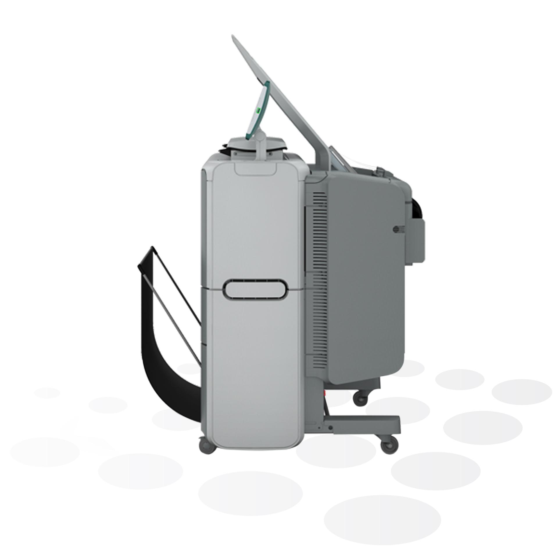 PlotWave 340/360 Printer mit Scanner (Seitenansicht)