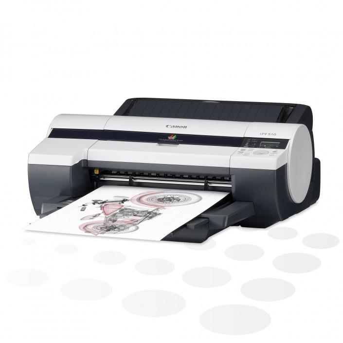 "iPF510 - 17"" Großformatdrucker"