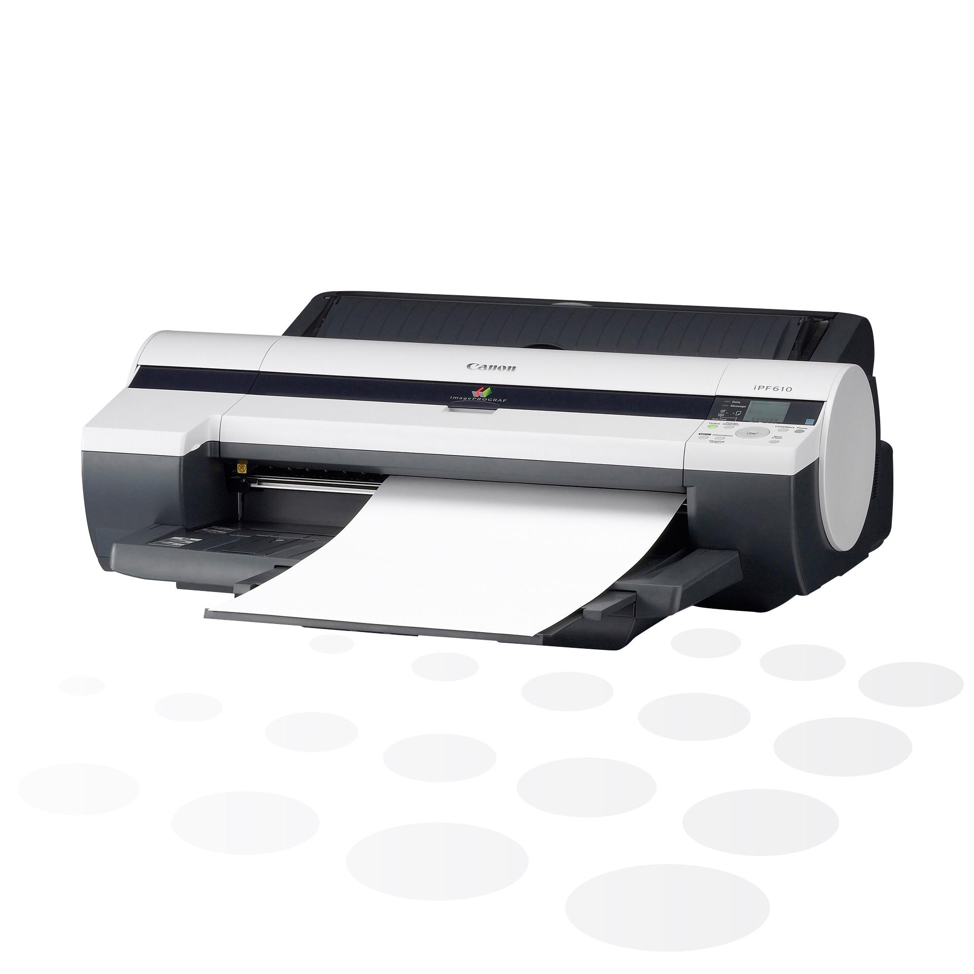 """iPF610 - 24"""" Großformatdrucker ohne Untergestell"""