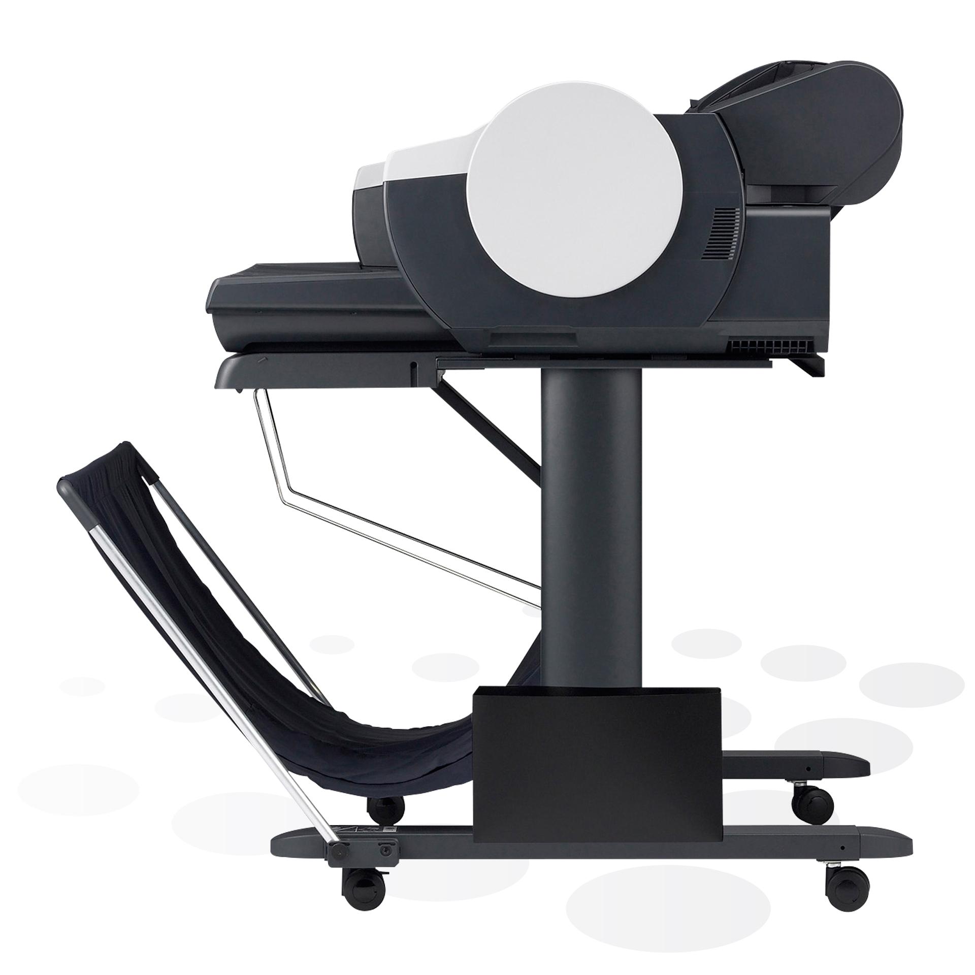"""iPF610 - 24"""" Großformatdrucker (Seitenansicht)"""