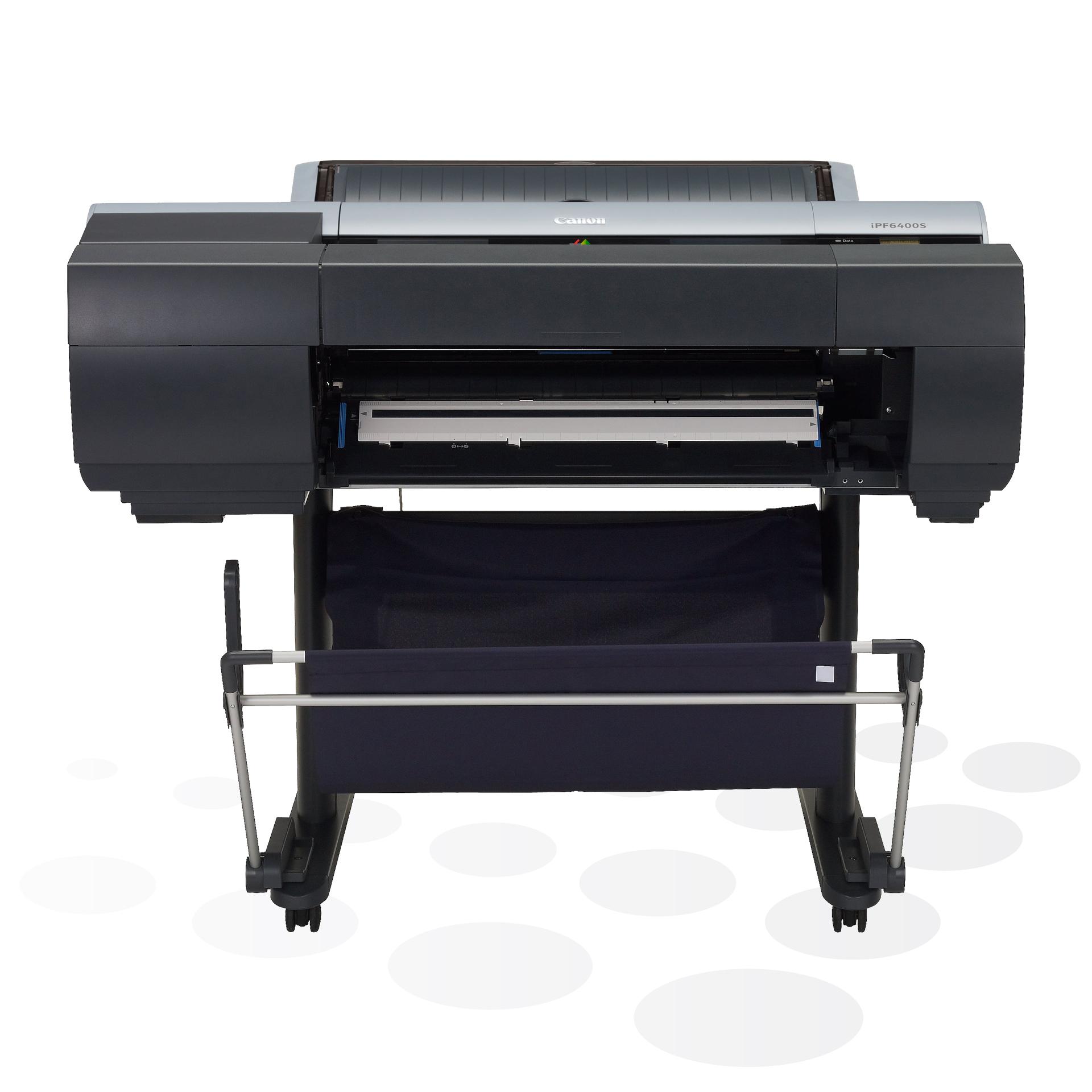"""iPF6400S - 24"""" Fine-Art und POS-Plakatdrucker mit Spektralfotometer"""
