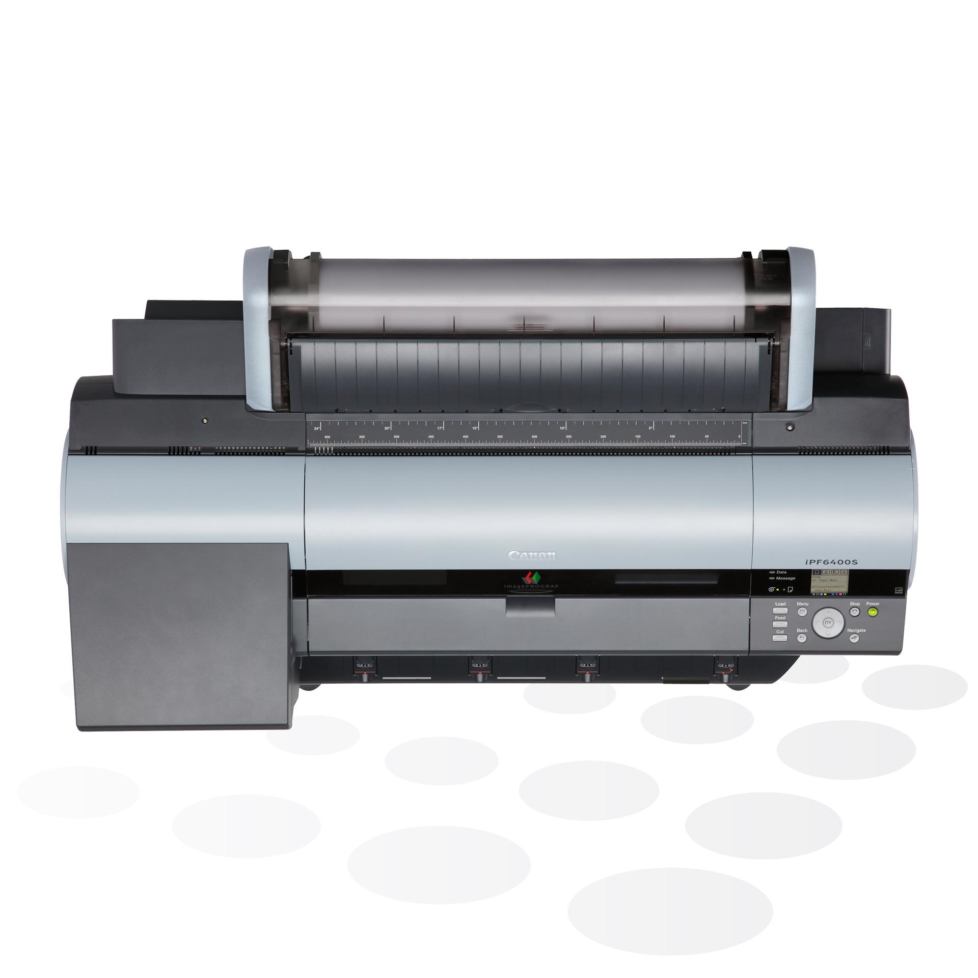"""iPF6400S - 24"""" Fine-Art und POS-Plakatdrucker (Draufsicht)"""