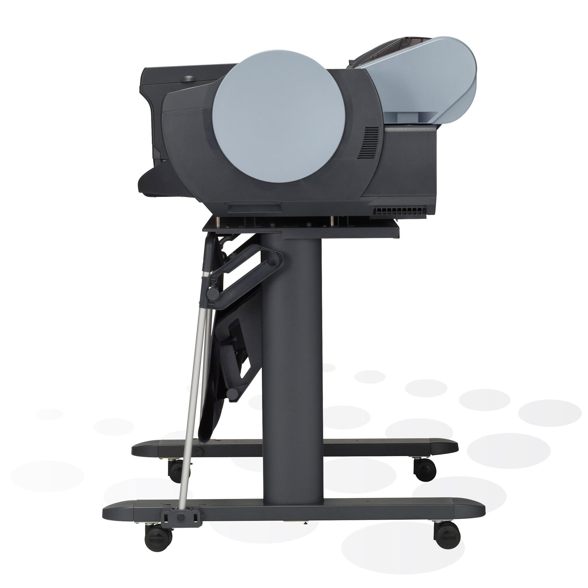 """iPF6400S - 24"""" Fine-Art und POS-Plakatdrucker (Seitenansicht)"""