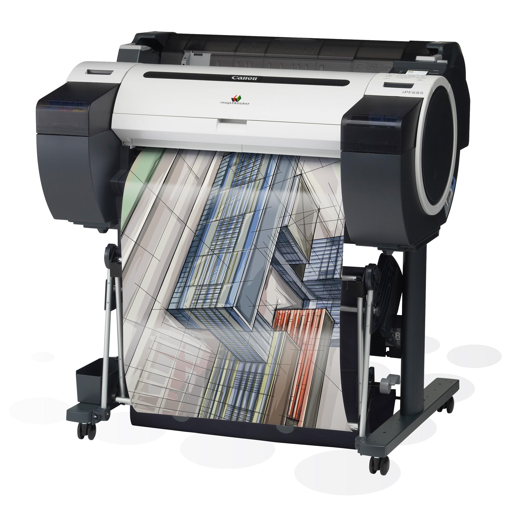 "iPF685 - 24"" Großformatdrucker"
