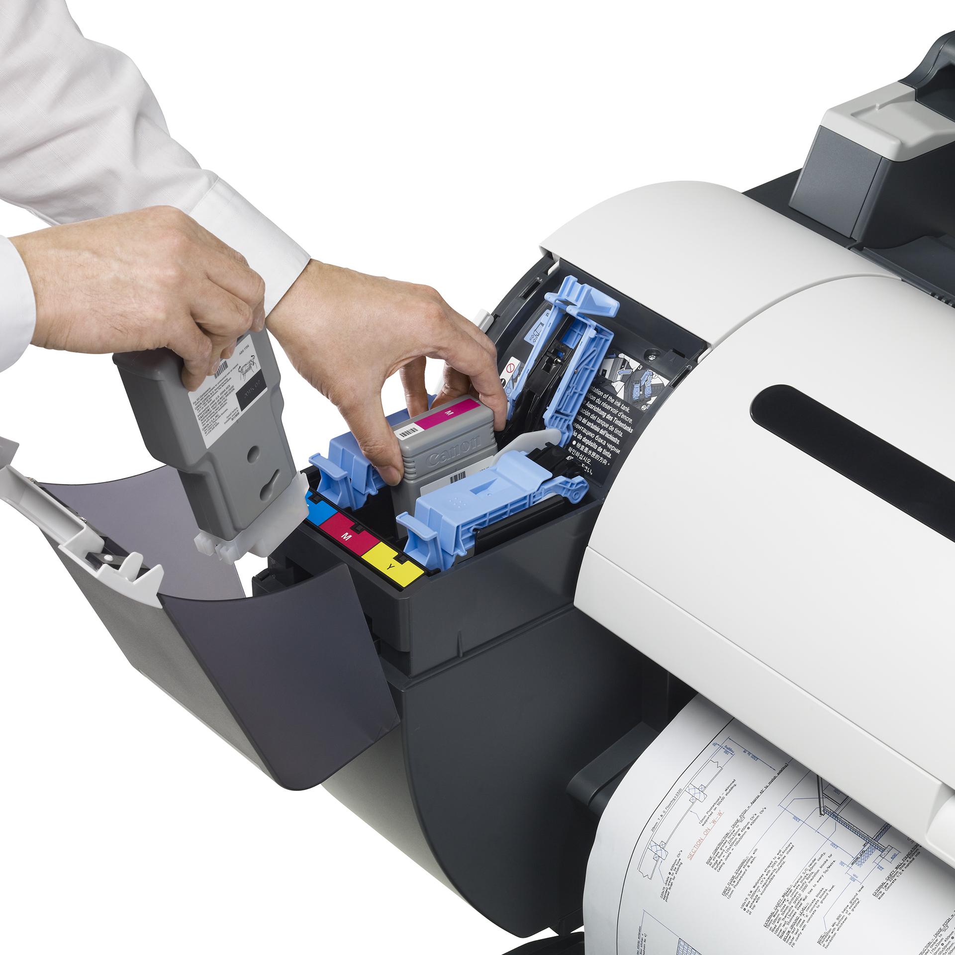 iPF685 - Wechsel der Tintentanks