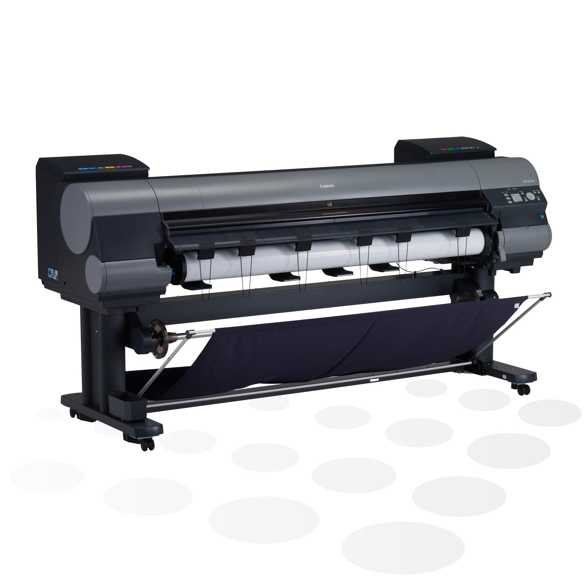 """iPF9400 - 60"""" Foto-/ Fine-Art Drucker mit Auffangkorb"""