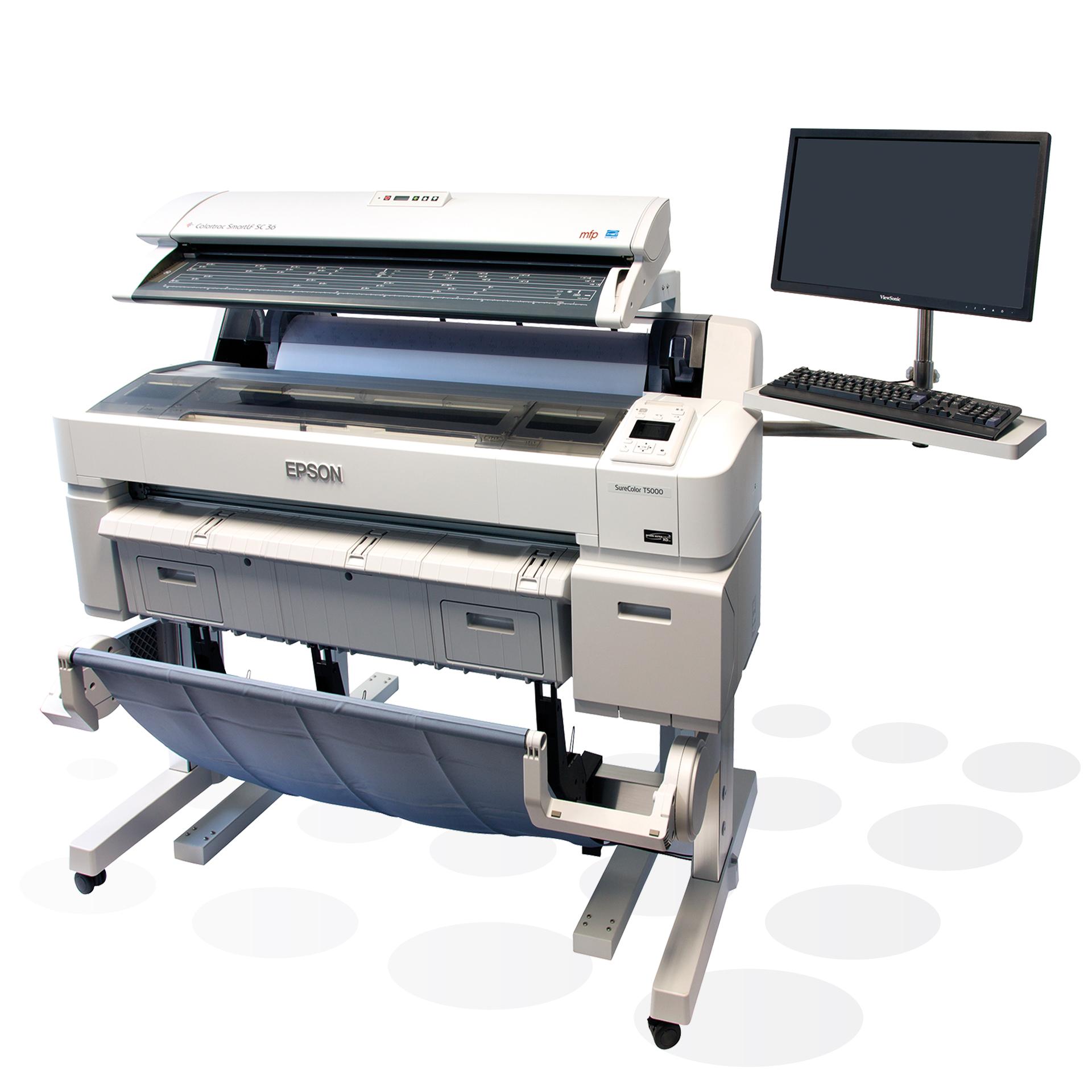 Colortrac SmartLF SC 36 MFP Kombination mit Epson Plottern
