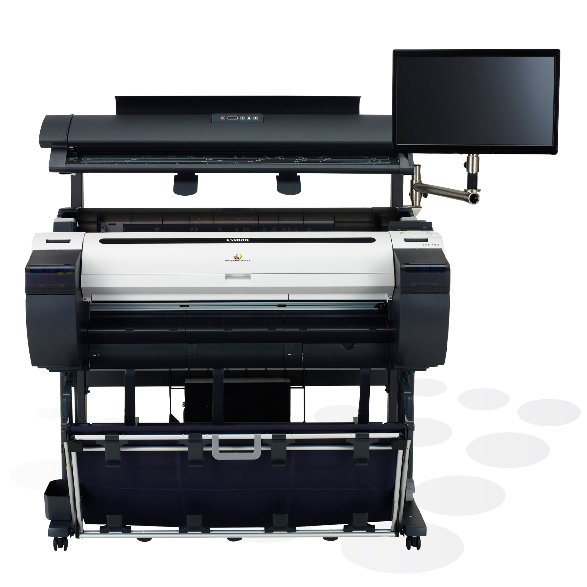 Canon imagePROGRAF iPF780 M40 MFP Frontansicht