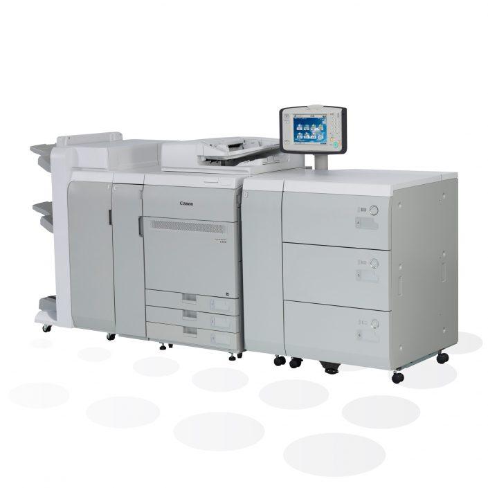 Canon imagePRESS C750/C850 Digitaldruckmaschine Seitenansicht