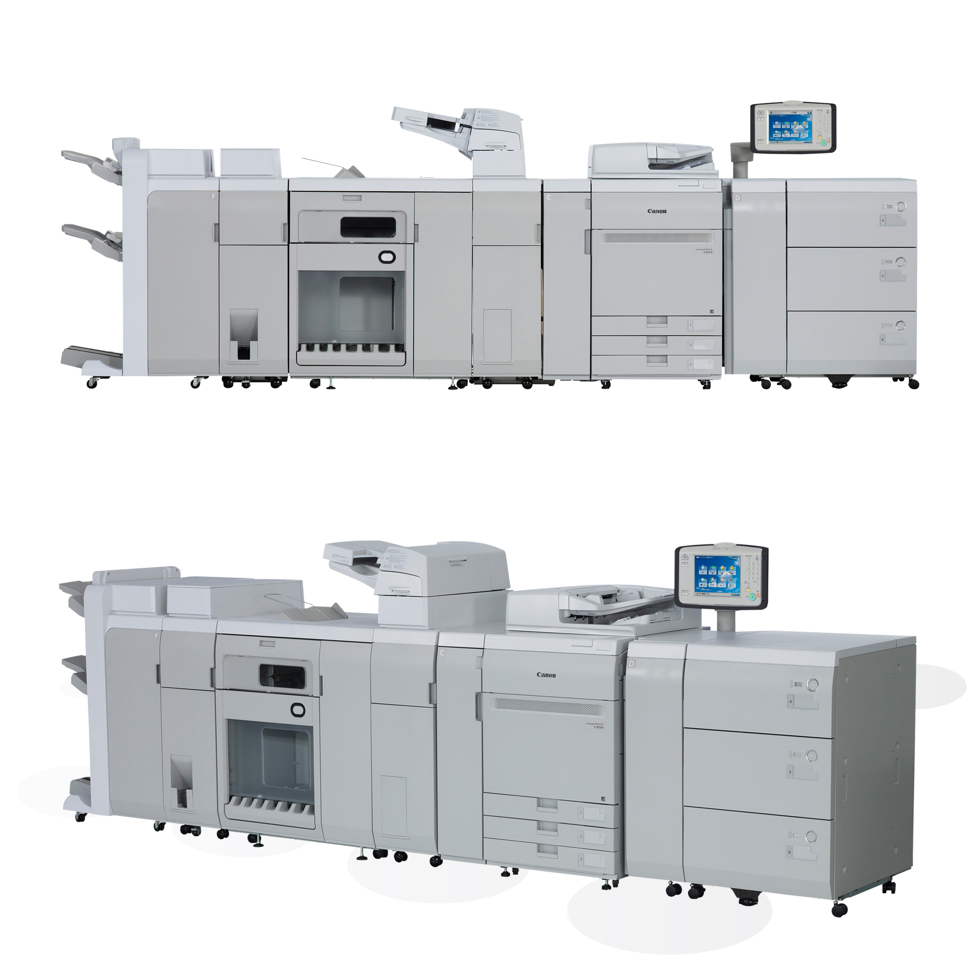 Canon imagePRESS C750/C850 Digitaldruckmaschine Vollausstattung