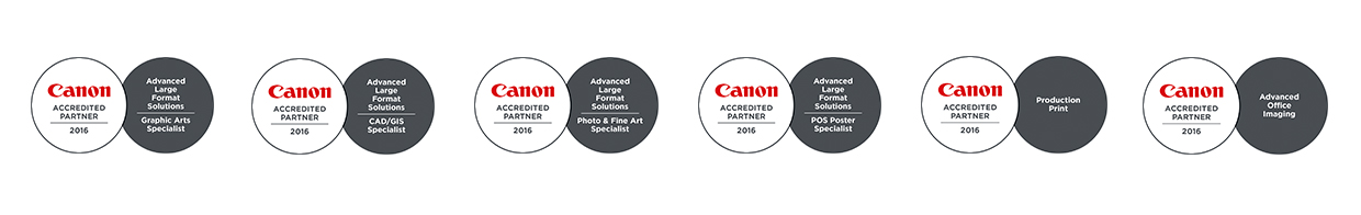 Canon Accredited Partner 2016