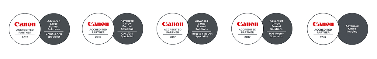 Canon Accredited Partner 2017