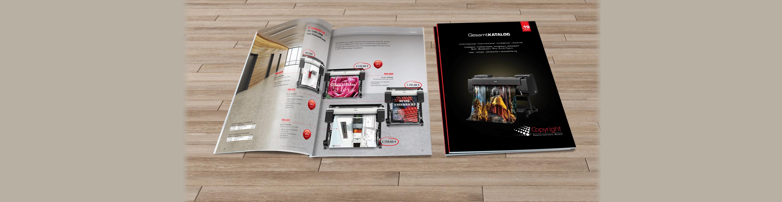 Copyright Kopiersysteme Katalog 2019