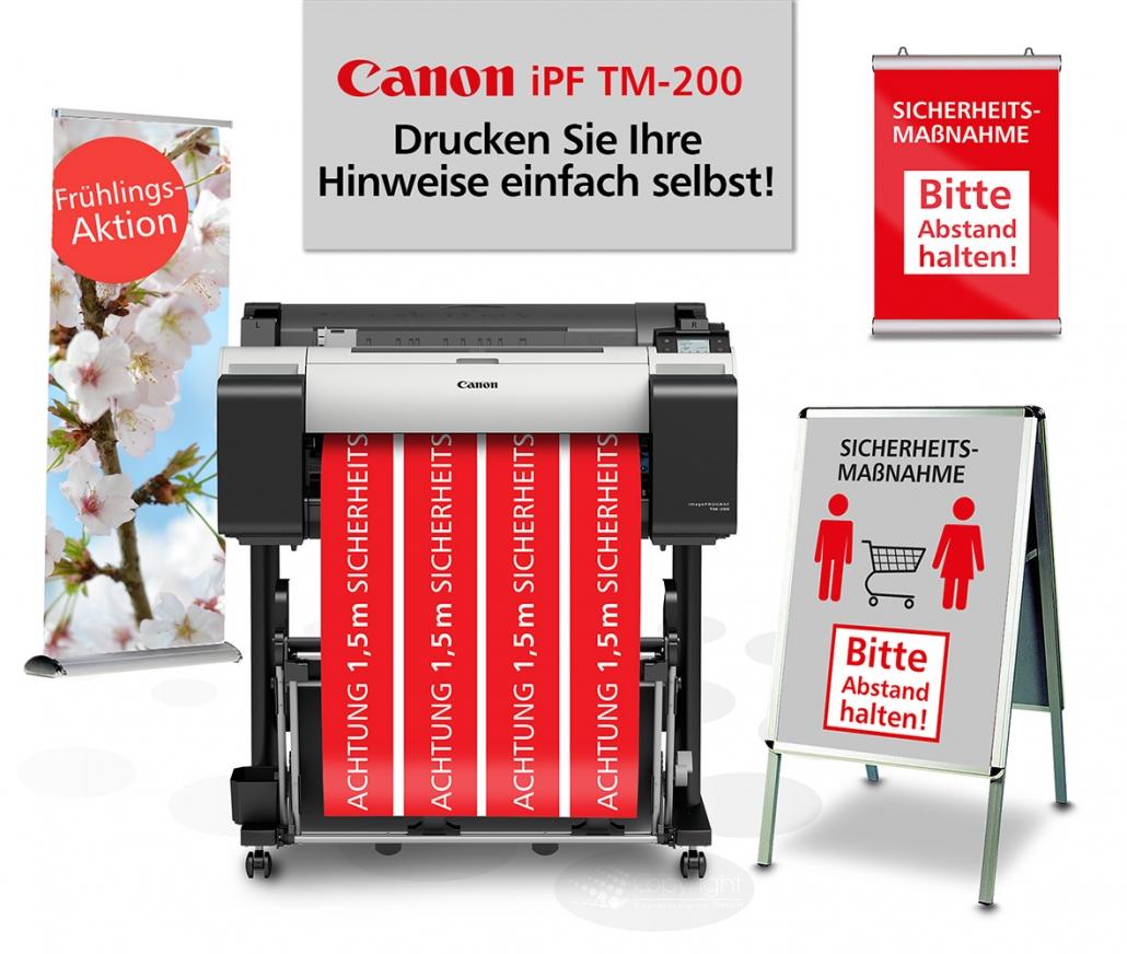 Canon iPF TM-200 Unsere Aktion