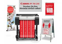 Canon iPF TM-200_AKTION