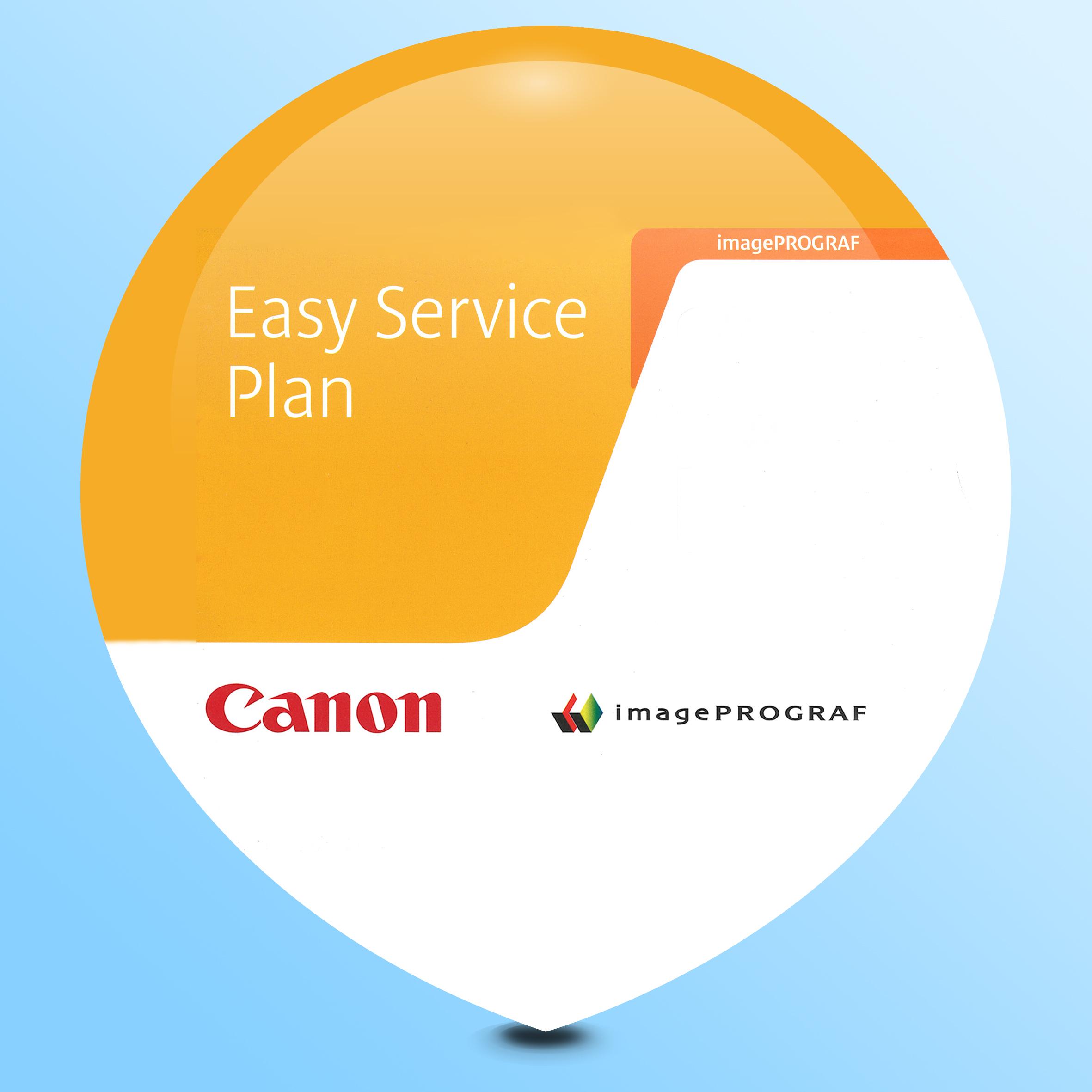 Canon Easy Service Plan